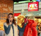 Moderování slavnostního otevření ochodu Retro Jeans, Brno
